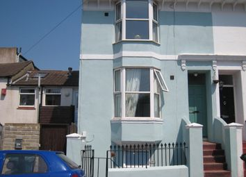 Thumbnail 1 bed flat to rent in Pevensey Road, Brighton