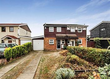 Thumbnail 3 bed semi-detached house for sale in Davenants, Basildon, Essex