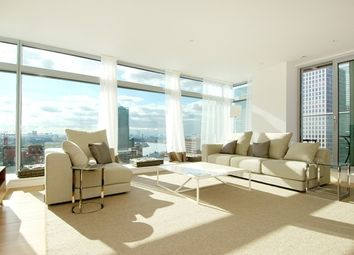 Thumbnail 3 bed flat to rent in Pan Peninsula Square, West Tower, Canary Wharf