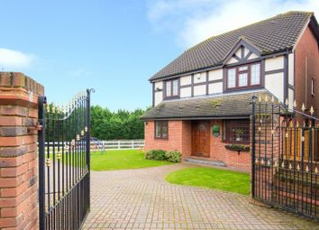 Thumbnail 4 bed detached house to rent in Castle Close, Noak Hill, Essex