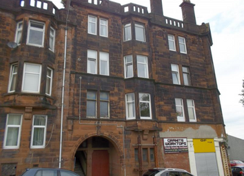 Thumbnail 1 bed flat to rent in John Street, Gourock Unfurnished