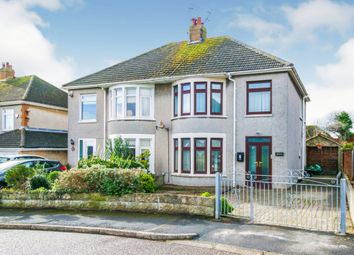 Thumbnail 3 bed semi-detached house for sale in Nailsea Court, Sully, Penarth