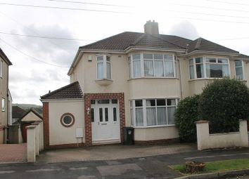 Thumbnail 3 bed semi-detached house for sale in Rayens Cross Road, Long Ashton, Bristol