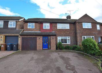5 bed semi-detached house for sale in Fulton Crescent, Bishop's Stortford, Hertfordshire CM23