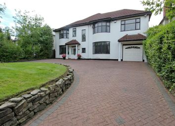 Thumbnail 4 bedroom detached house for sale in Sheepfoot Lane, Prestwich, Manchester