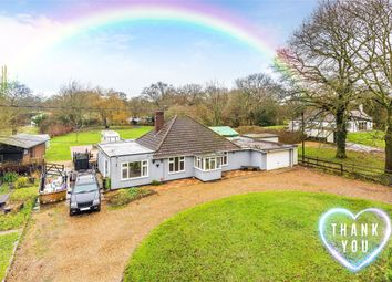 Thumbnail 3 bed bungalow for sale in Church Lane, Burstow, Horley, Surrey