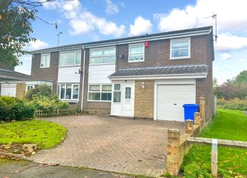 Thumbnail 4 bed semi-detached house for sale in Tintagel Close, Cramlington