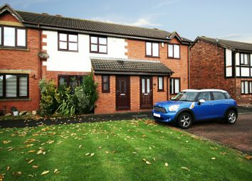 Thumbnail 3 bed terraced house for sale in Oakwood Close, Blackpool, Lancashire
