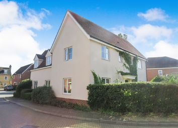 Thumbnail 4 bed detached house for sale in Jermyn Way, Tharston, Norwich