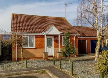 Thumbnail 2 bedroom detached bungalow for sale in Wren Close, Necton, Swaffham