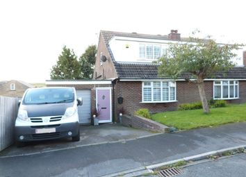 Thumbnail 3 bed semi-detached house for sale in Longlands Avenue, Denholme
