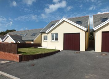 Thumbnail 3 bed detached bungalow for sale in Plot 3, New Development At Woodland View, Milford Haven