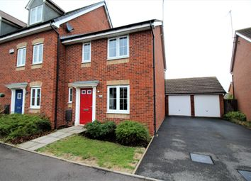 Thumbnail 3 bed end terrace house for sale in Coopers Meadow, Keresley, Coventry