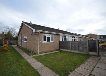 Thumbnail 3 bed semi-detached bungalow for sale in Richardson Crescent, Hethersett, Norwich