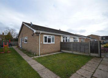 Thumbnail 3 bed semi-detached bungalow for sale in Richardson Crescent, Hethersett, Norwich