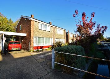 Thumbnail 3 bed semi-detached house for sale in Rochester Road, Aylesford