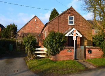 Thumbnail 1 bed detached house for sale in School Lane, Normanton Le Heath, Leicestershire