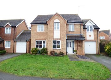 Thumbnail 4 bedroom detached house for sale in Burghley Close, Crowland, Peterborough, Lincolnshire