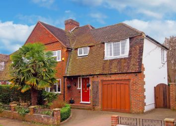Thumbnail 4 bed semi-detached house for sale in Hessle Grove, Ewell