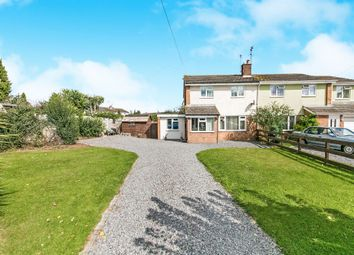 Thumbnail 3 bed semi-detached house for sale in Spurgeon Close, Sible Hedingham, Halstead