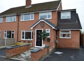 Thumbnail 4 bed semi-detached house for sale in Ashley View, Market Drayton