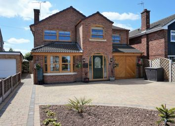 Thumbnail 4 bed detached house for sale in Porlock Avenue, Stafford