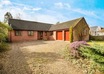 Thumbnail 4 bedroom detached bungalow for sale in Manor Road, Hemingford Grey, Cambridgeshire