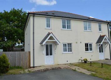 Thumbnail 3 bed semi-detached house to rent in 12, Plantation Close, Plantation Lane, Newtown, Powys