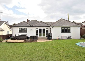Thumbnail 3 bed detached bungalow for sale in Barnston, Dunmow, Essex