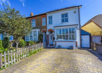 Thumbnail 4 bed semi-detached house for sale in Old Charlton Road, Shepperton