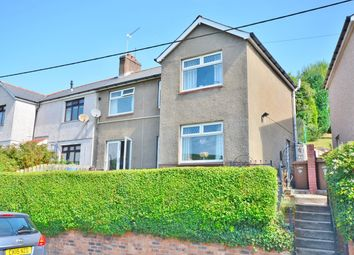 Thumbnail 3 bed semi-detached house for sale in Dan Y Graig, Abertridwr, Caerphilly