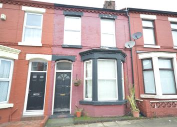 Thumbnail 3 bed terraced house for sale in Tiverton Street, Wavertree, Liverpool