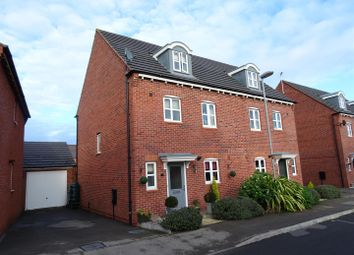 Thumbnail 4 bed semi-detached house for sale in Stonebridge Close, Ibstock, Leicestershire