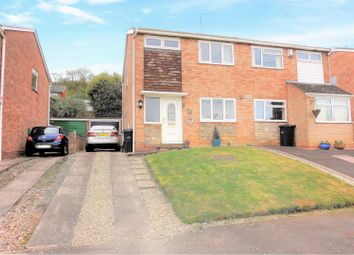 Thumbnail 3 bed semi-detached house for sale in Linfield Gardens, Dudley