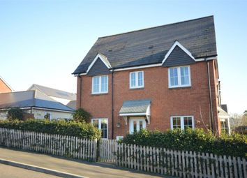 Thumbnail 3 bedroom end terrace house for sale in Betjeman Close, Sidmouth, Devon