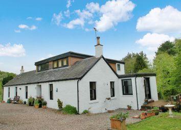 Thumbnail 4 bed detached house for sale in Lanark Road, Hazelbank, Lanark