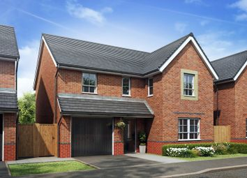 """Thumbnail 4 bedroom detached house for sale in """"Hale"""" at Stretton Road, Stretton, Warrington"""