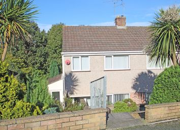 Thumbnail 3 bedroom semi-detached house for sale in Donnington Drive, Higher Compton, Plymouth