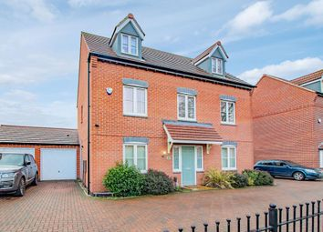 Thumbnail 5 bed detached house for sale in Crown Street, Hucknall, Nottingham
