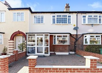 Thumbnail 3 bed terraced house for sale in Strathbrook Road, London