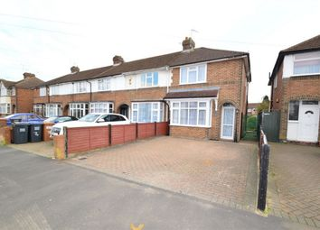 Thumbnail 2 bed end terrace house for sale in Heathcote Avenue, Hatfield, Hertfordshire