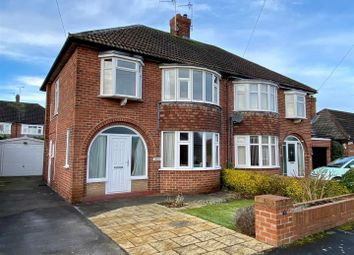 Thumbnail 3 bed semi-detached house for sale in Chantry Avenue, Upper Poppleton, York