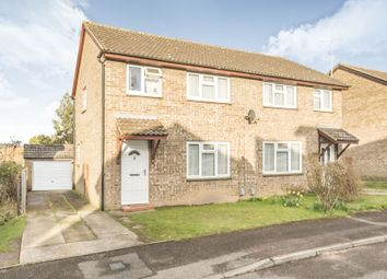 Thumbnail Semi-detached house for sale in Coleridge Close, Hitchin
