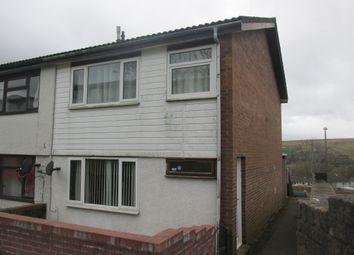 Thumbnail 3 bed end terrace house for sale in Tan Y Bryn, Rhymney, Tredegar