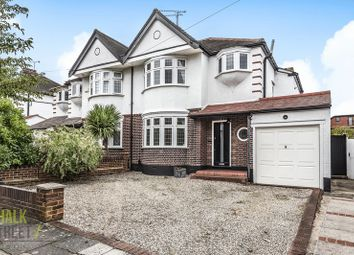 Thumbnail 3 bed semi-detached house for sale in Roslyn Gardens, Gidea Park