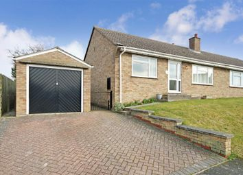 Thumbnail 2 bed semi-detached bungalow to rent in Tothill Road, Swaffham Prior, Cambridge