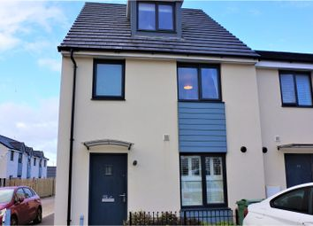 Thumbnail 3 bed end terrace house for sale in Pennycross Close, Plymouth