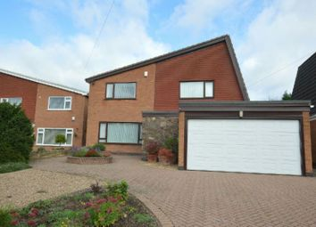 Thumbnail 3 bed detached house for sale in Hall Close, Glen Parva, Leicester