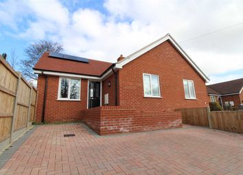 Thumbnail 2 bed semi-detached bungalow for sale in Henniker Road, Ipswich