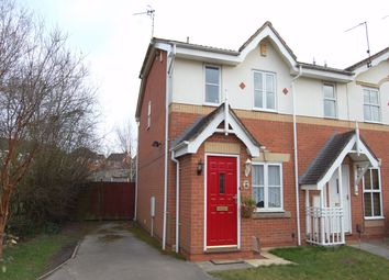 Thumbnail 2 bed end terrace house to rent in Eley Close, Shipley View, Ilkeston, Derbyshire